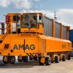 IL TRASPORTATORE KAMAG 3800 CONSEGNATO ALLA AMAG ROLLING