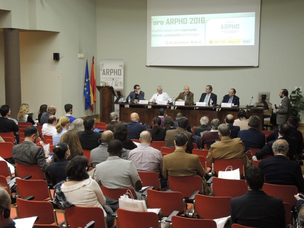 CONVEGNO ARPHO 2016: A MADRID SI PARLA DI CALCESTRUZZO - Sollevare -  - News 14