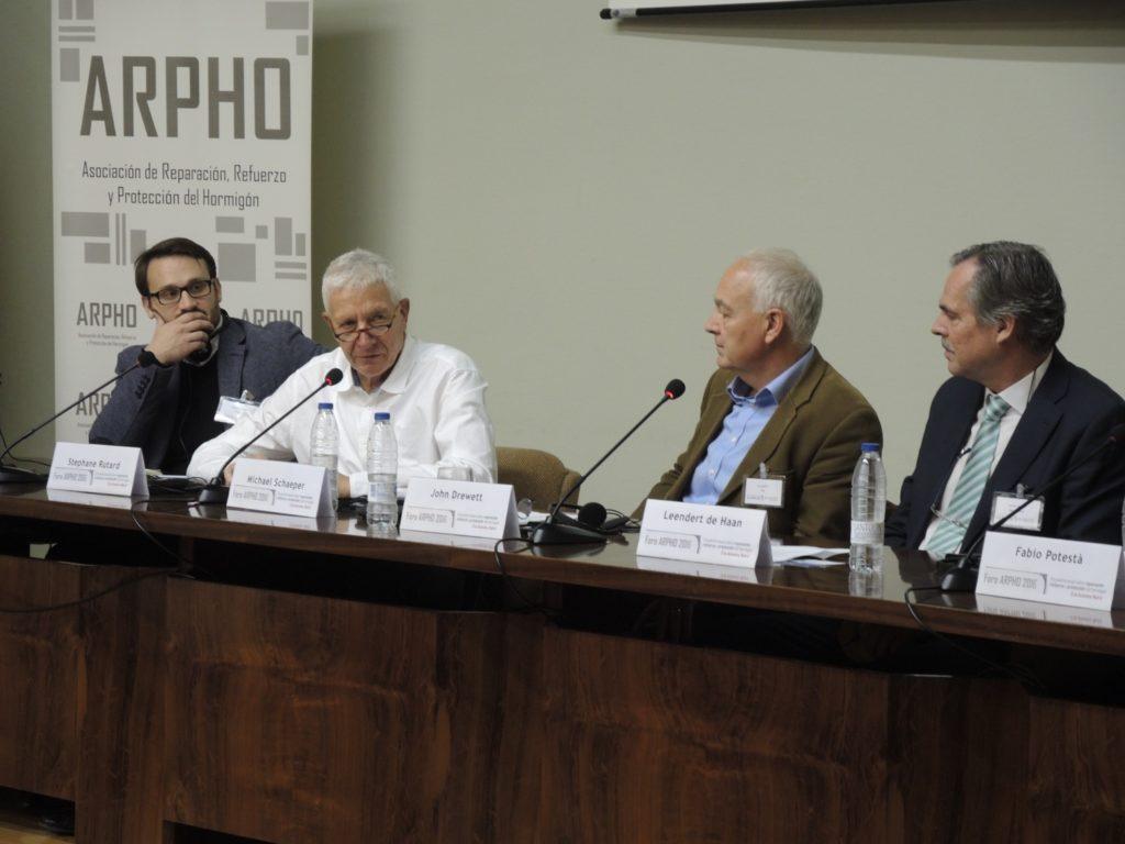 CONVEGNO ARPHO 2016: A MADRID SI PARLA DI CALCESTRUZZO - Sollevare -  - News 17