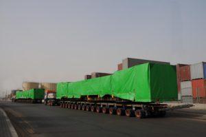 FAYMONVILLE CON UNIVERSAL TRANSPORT IN EGITTO - Sollevare - Egitto FAYMONVILLE Universal Transport - News Trasporti eccezionali