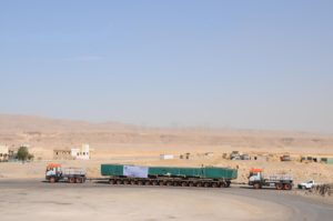 FAYMONVILLE CON UNIVERSAL TRANSPORT IN EGITTO - Sollevare - Egitto FAYMONVILLE Universal Transport - News Trasporti eccezionali 4