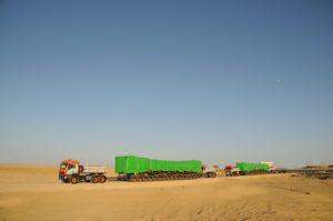 FAYMONVILLE CON UNIVERSAL TRANSPORT IN EGITTO - Sollevare - Egitto FAYMONVILLE Universal Transport - News Trasporti eccezionali 6