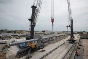 IMBARCO RECORD PER LA SAPIR DI RAVENNA - Sollevare -  - Gru portuali News Porti 1