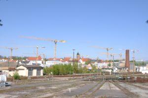 LE POTAIN PER UN PROGETTO RESIDENZIALE IN GERMANIA - Sollevare -  - case history Gru a torre News 4