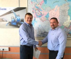 GENIE SBARCA IN RUSSIA - Sollevare -  - Aziende News Piattaforme aeree