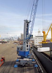 LA QUARTA GOTTWALD IN COREA DEL SUD - Sollevare - Corea del Sud Gottwald gru portuali mobili KONECRANES - Gru portuali Logistica News