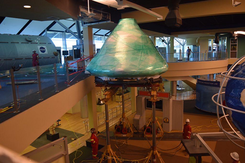 MAMMOET SPOSTA L'APOLLO 4 - Sollevare - Apollo 4 MAMMOET - case history News Trasporti eccezionali 3