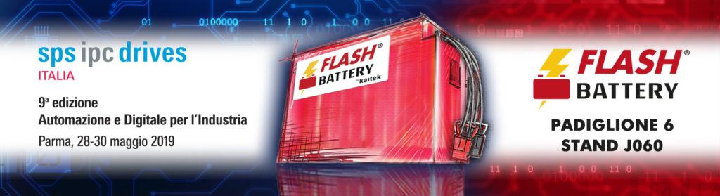 FLASH BATTERY PRESENTA LE SUE NOVITA - Sollevare -  - Aziende Batterie Fiere 1