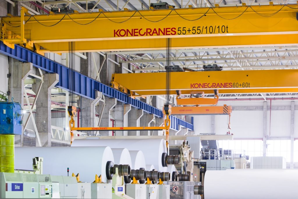 Konecranes_Lifting Equipment Pulp and Paper_1_ok