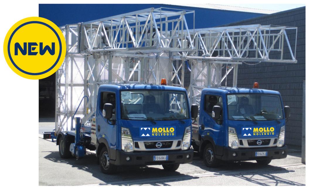 MOLLO OFFRE DUE PIATTAFORME SOTTOPONTE - Sollevare - Mollo noleggio piattaforme aeree sottoponte - News Noleggio Piattaforme aeree