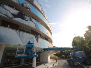 TECNOALT PER L'HOTEL CAMPANELLE A ROMA - Sollevare -  - case history News Piattaforme aeree 2