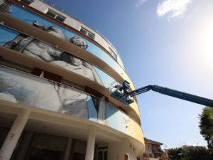 TECNOALT PER L'HOTEL CAMPANELLE A ROMA - Sollevare -  - case history News Piattaforme aeree 3