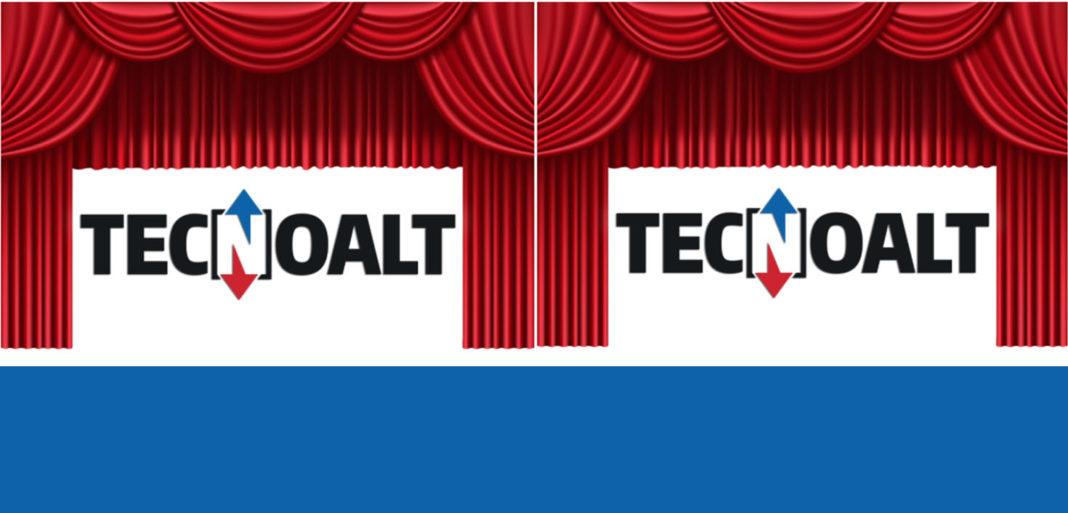 TECNOALT CAMBIA LOOK - Sollevare - logo aziendale Tecnoalt - News Noleggio