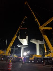 MAMUT USA AUTOGRU LIEBHERR PER LA NUOVA METRO DI PANAMA CITY - Sollevare - - News 1