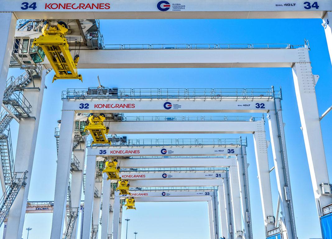 GLOBAL CONTAINER TERMINALS ACQUISTANO DA KONECRANES - Sollevare -  - Logistica News