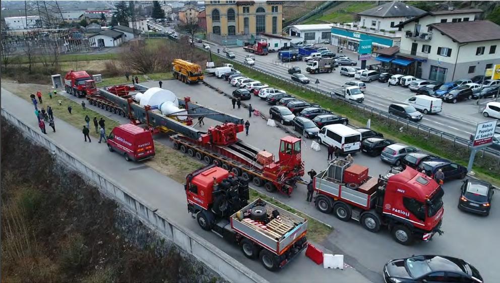 FAGIOLI FA IL BIS AGLI ESTA 2019 - Sollevare - - Aziende News Sollevamenti Trasporti eccezionali