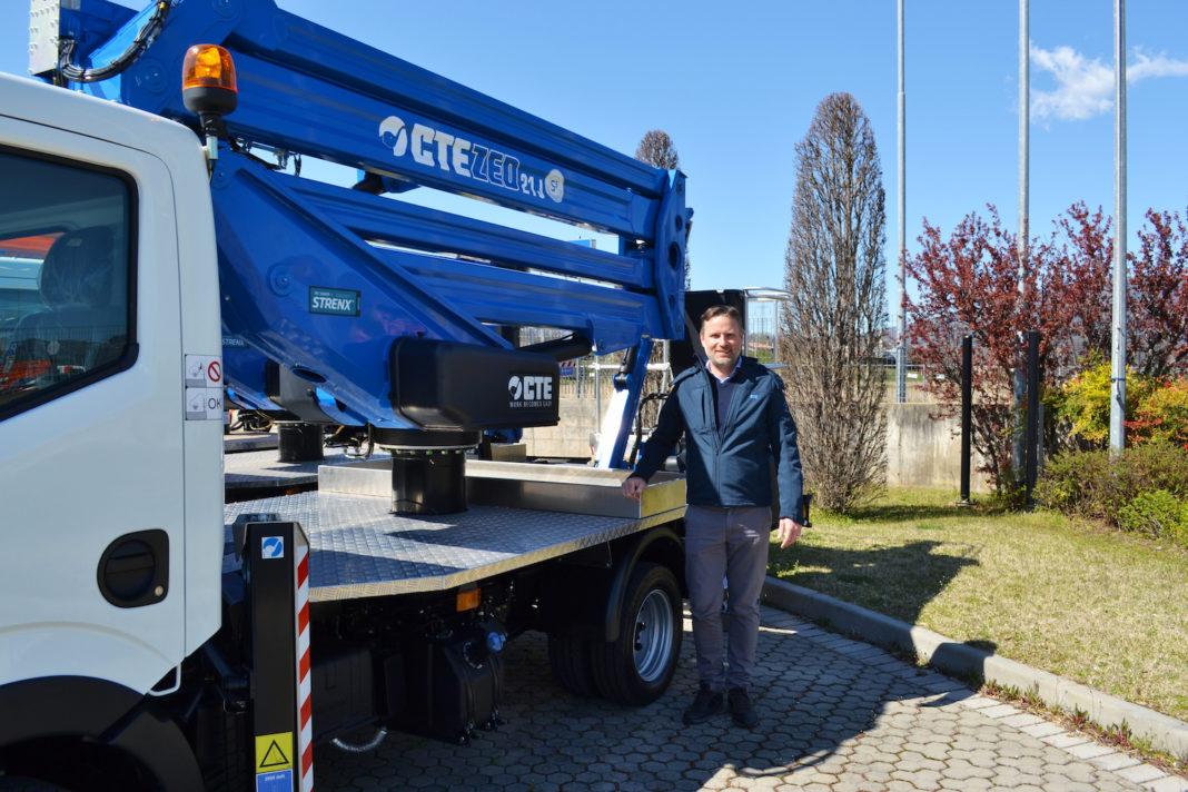 TIM HUNT E' IL NUOVO EXPORT MANAGER DI CTE - Sollevare -  - News