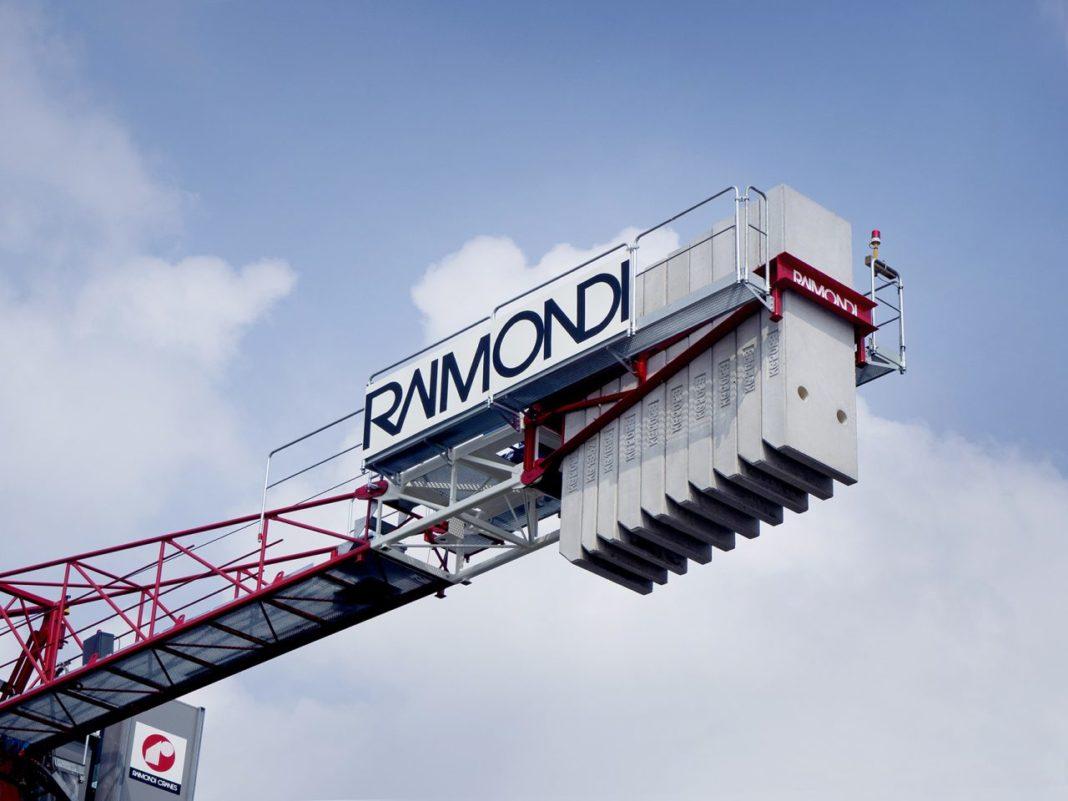 - Sollevare - Domenico Ciano GP Mat JDL Expo MRT159 Raimondi Cranes - Fiere Gru a torre News