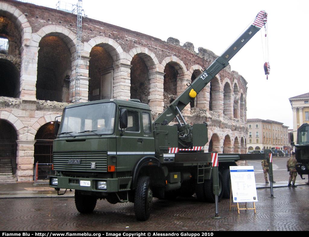 L'ESERCITO AL GIS CON I MEZZI CHE SOLLEVANO L'ITALIA DALLE CALAMITÀ - Sollevare -  - Fiere Gru militari News