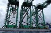 LA CINESE DHHI CONSEGNA 3 NUOVE GRU SHIP-TO-SHORE AL TERMINAL MCT DI GIOIA TAURO