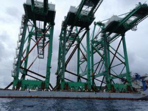 LA CINESE DHHI CONSEGNA 3 NUOVE GRU SHIP-TO-SHORE AL TERMINAL MCT DI GIOIA TAURO - Sollevare -  - News