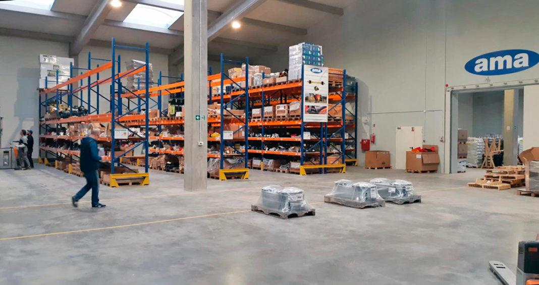 NUOVO CENTRO LOGISTICO PER AMA IN POLONIA - Sollevare -  - Componenti Logistica News