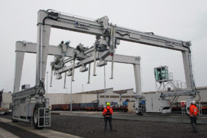 BACKSENSE BS-9000, IL RADAR DI BRIGADE ELETTRONICA PER CIMOLAI TECNOLOGY - Sollevare - - Carrelli elevatori Macchine portuali 1