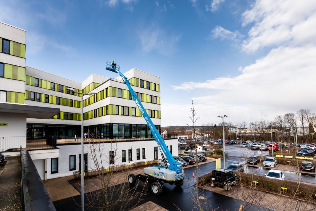 GENIE XTRA CAPACITY PER WEMO-TEC, ALTA QUOTA IN GERMANIA - Sollevare -  - News Noleggio Piattaforme aeree Piattaforme semoventi telescopiche 1