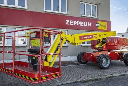 GENIE, PLE STAGE V ALL'ESORDIO IN GERMANIA CON ZEPPELIN RENTAL