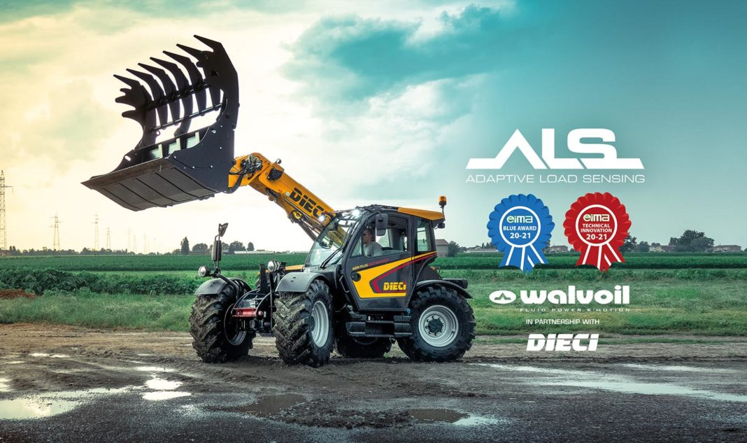 [titolo] - [nome_sito] - Adaptive Load Sensing Agriplus ALS DIECI Eima Digital Preview 2020 GD 42.7 Interpump Walvoil - [categorie]